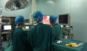 胸腔镜下肺癌根治术